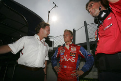 Heikki Kovalainen and Christian Horner
