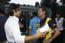 Antonio Pizzonia and Tiago Montiero