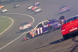 J.J. Yeley spins in turn 4