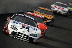 Ryan Newman leads Tony Stewart
