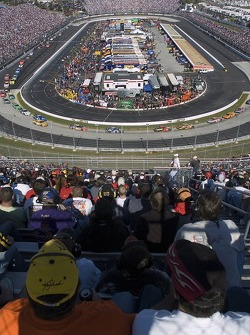 Martinsville from high in the stands