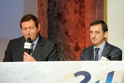 Gerard Neveu, Head of WEC and Pierre Fillon, ACO president