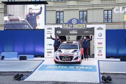 Kevin Abbring and Sebastian Marshall, Hyundai i20 WRC, Hyundai Motorsport
