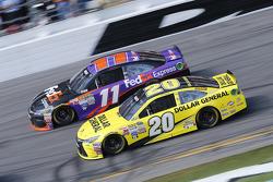 Denny Hamlin, Joe Gibbs Racing Toyota, Matt Kenseth, Joe Gibbs Racing Toyota