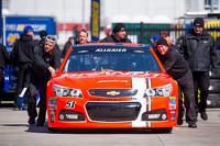 Car of Justin Allgaier, HScott Motorsports Chevrolet