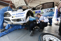 Ford M-Sport team area