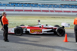Ricardo Sperafico's car in support of hurricane relief