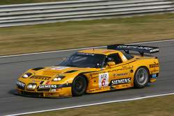#6 GLPK Racing Corvette C5-R: Bert Longin, Anthony Kumpen, Mike Hezemans