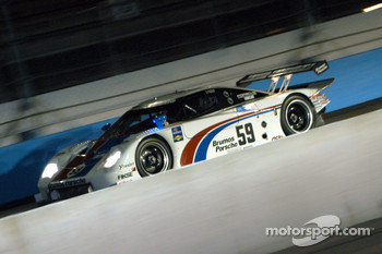#59 Brumos Racing Porsche Fabcar: Hurley Haywood, JC France