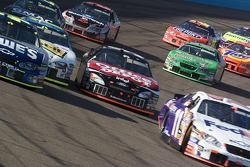 Denny Hamlin, Carl Edwards, Greg Biffle, Brian Vickers, Kevin Harvick and Bobby Labonte