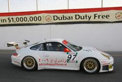 #97 Lammertink Racing Porsche 996 GT3 RSR: Luca Moro, Wolfgang Kaufmann