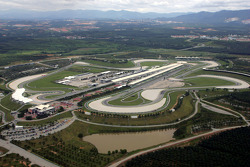 Aerial view of Sepang International Circuit