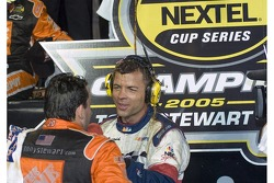 Interview for NASCAR Nextel Cup 2005 champion Tony Stewart