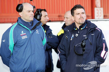 BMW Sauber engineers