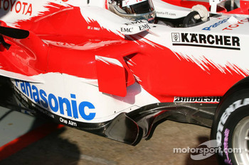 Detail of the new Toyota TF106