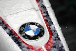 Detail of a Formula BMW car