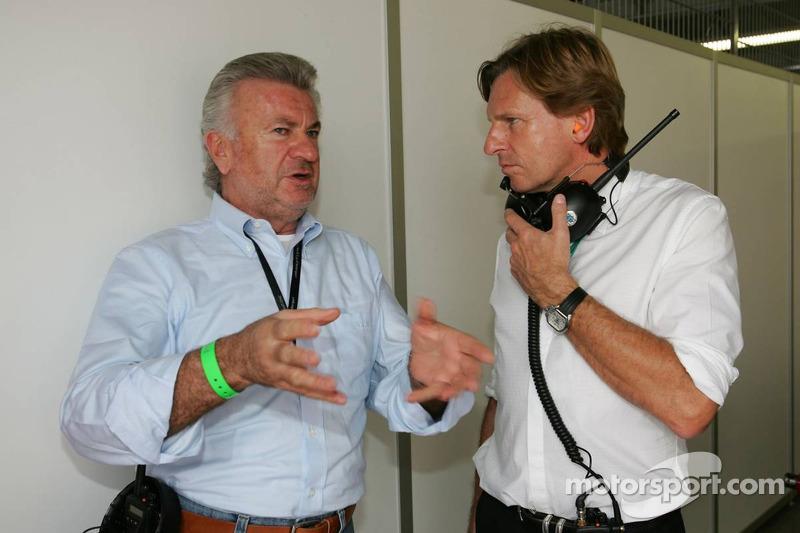 Willi Weber and David Sears