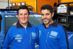 Team Gauloises Schlesser: William Alcaraz and Josep-Maria Servia