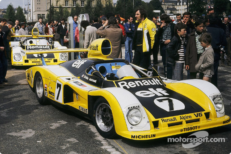 7 renault sport renault alpine a442 at 24 hours of le mans. Black Bedroom Furniture Sets. Home Design Ideas