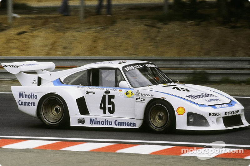 45 Porsche Kremer Racing Porsche 935 K3 Axel Plankenhorn Philippe Gurdjian John Winter At 24