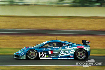 #50 McLaren F1 GTR: Fabien Giroix, Jean-Denis Deletraz, Olivier Grouillard