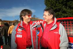 Paul Belmondo and Bernard Chevalier