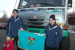 Tomas Tomecek Letka Racing Team leaves for Lisbon: Tomas Tomecek and Vlastimil Buchtyar