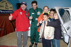 Paulo Marques and Paulo Goncalves with friends