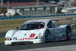 #8 Synergy Racing Porsche Doran: Burt Frisselle, Brian Frisselle, Patrick Huisman