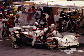 #67 Busby Porsche 962: Bob Wollek, Mauro Baldi, Brian Redman