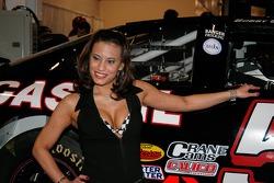 Alyssa Sharman, contestant for Ms. Motorsports 2006