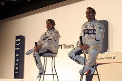 Nick Heidfeld and Jacques Villeneuve