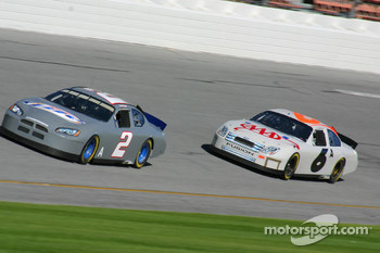 Kurt Busch and Mark Martin