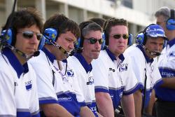 Dyson racing crew members