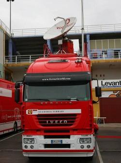 Ferrari transporter