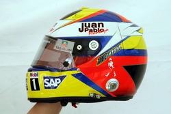 Helmet of Juan Pablo Montoya