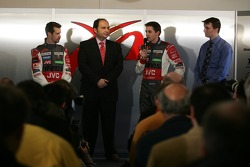 Press conference after the presentation