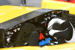 Dashboard of the Penske Racing Porsche RS Spyder