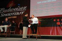 Budweiser Shootout pole winner Ken Schrader
