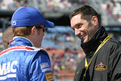 Brian Vickers and Max Papis