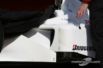 Detail of the Super Aguri F1