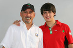 Bobby Rahal and son Graham