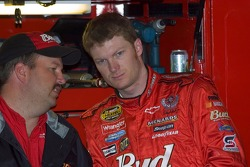 Dale Earnhardt Jr. and Tony Eury Jr.
