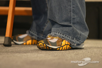 Shoes of Kasey Kahne