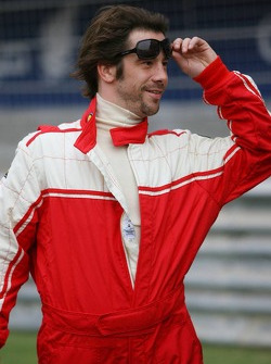 Pro celebrity race: Jay Kay, lead singer for Jamiroquai