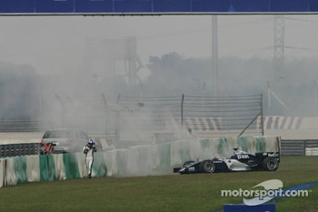Nico Rosberg in trouble