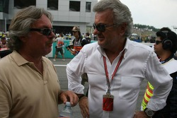Keke Rosberg and Willi Weber