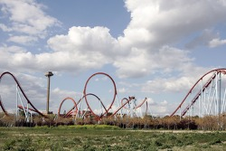 Rollercoaster in Catalunya