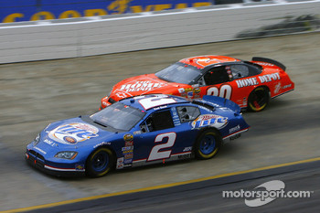 Kurt Busch and Tony Stewart