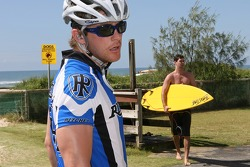 Red Bull fitness training in Surfers Paradise: Scott Speed